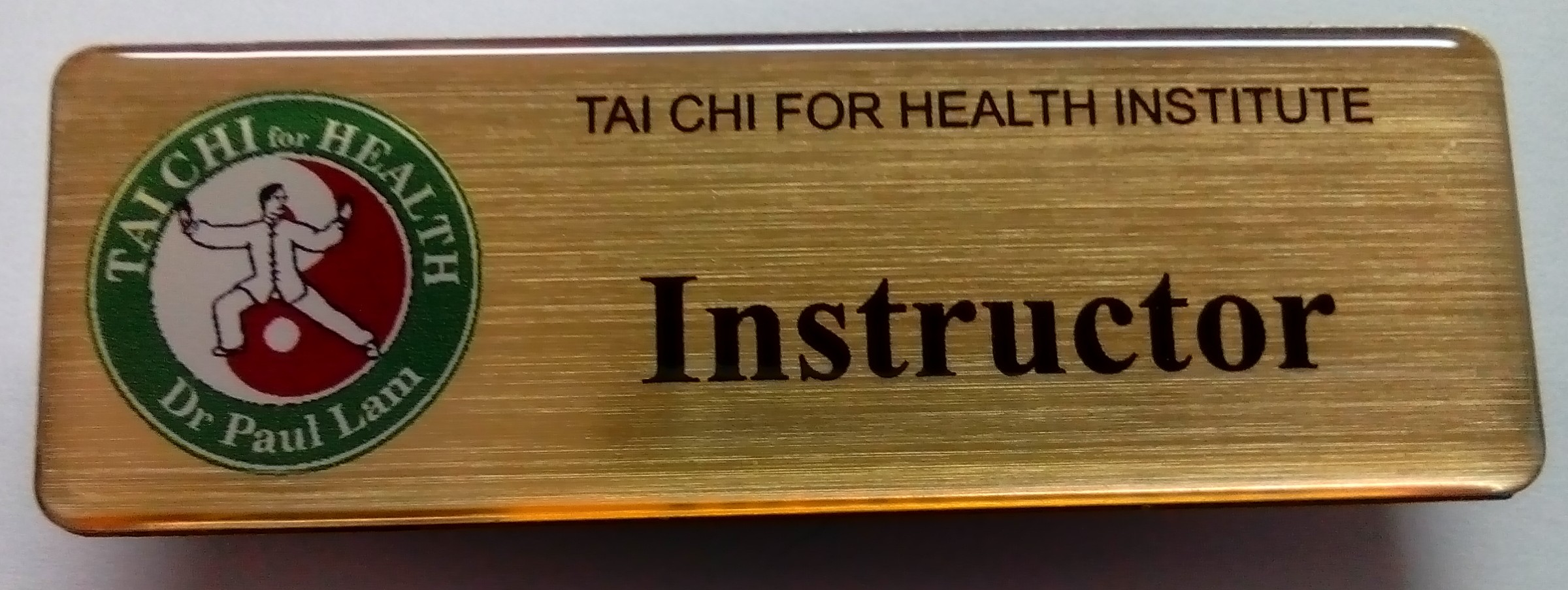 Tai Chi for Health Instructor Badge